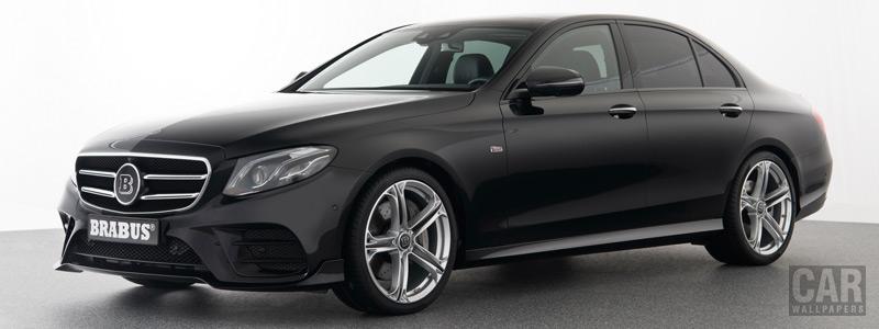 Car tuning desktop wallpapers Brabus Mercedes-Benz E 350 d AMG Line - 2017 - Car wallpapers