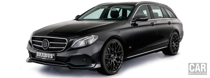 Car tuning desktop wallpapers Brabus Mercedes-Benz E-class Estate - 2017 - Car wallpapers