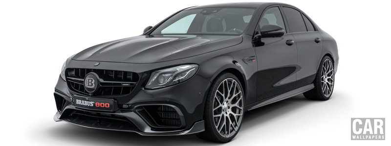 Car tuning desktop wallpapers Brabus 800 Mercedes-AMG E 63 S 4MATIC+ - 2018 - Car wallpapers