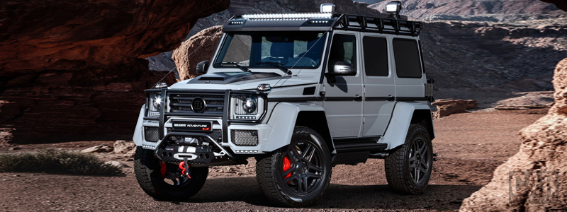 Car tuning desktop wallpapers Brabus 550 Adventure 4x4<sup>2</sup> Mercedes-Benz G 500 4x4<sup>2</sup> - 2017 - Car wallpapers