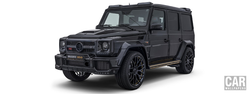 Car tuning desktop wallpapers Brabus 850 Buscemi Edition Mercedes-AMG G 63 - 2017 - Car wallpapers