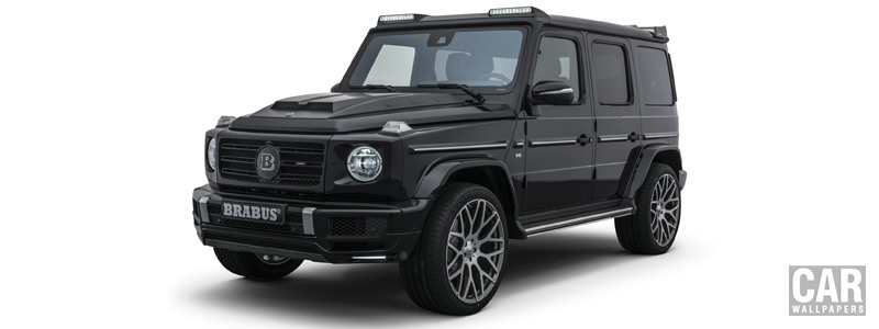 ���� ������ ���� Brabus Mercedes-Benz G 500 - 2018 - Car wallpapers