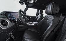 Car tuning desktop wallpapers Brabus D35 Adventure Mercedes-Benz G 350 d - 2019
