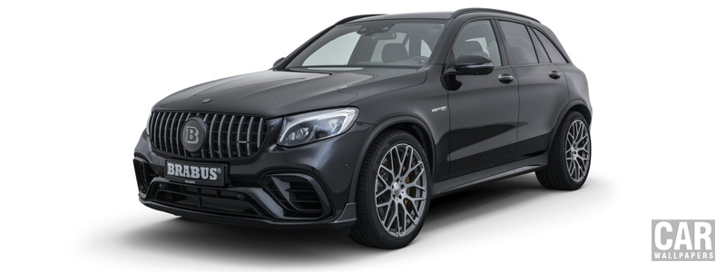 ���� ������ ���� Brabus 600 Mercedes-AMG GLC 63 S - 2018 - Car wallpapers