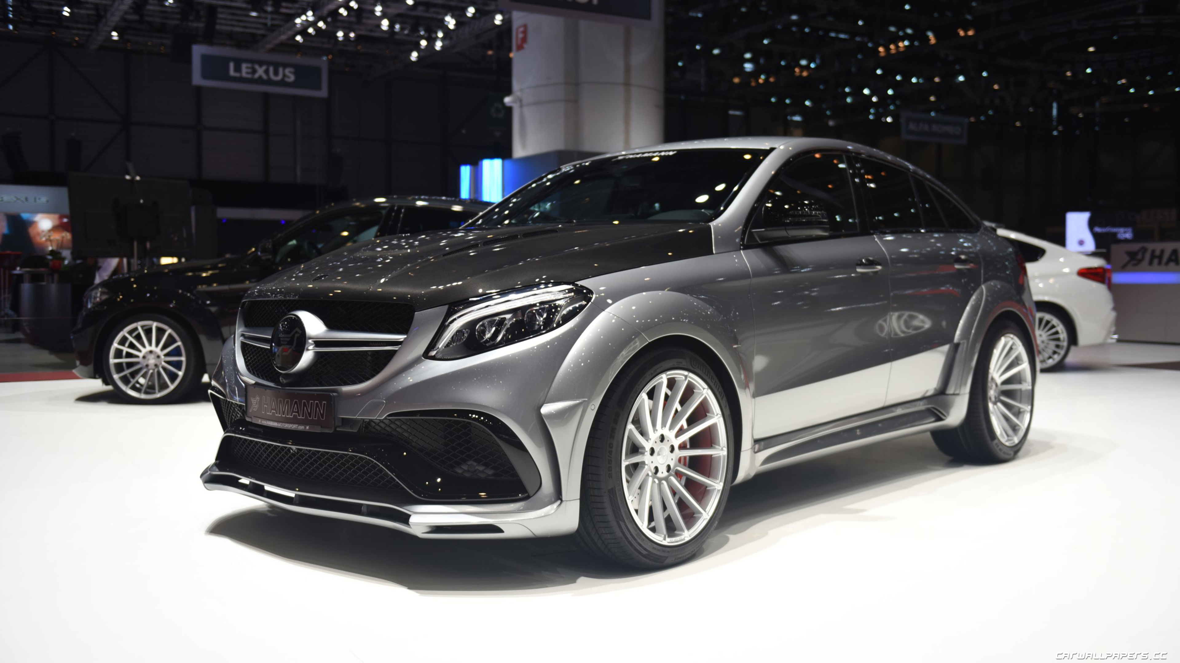 Car Tuning Desktop Wallpapers Hamann Mercedes Amg Gle 63 S 4matic Coupe 2017
