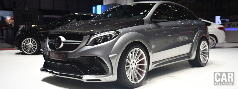 Car tuning desktop wallpapers Hamann Mercedes-AMG GLE 63 S 4MATIC Coupe - 2017 - Car wallpapers