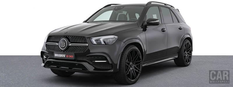Car tuning desktop wallpapers Brabus D30 Mercedes-Benz GLE 300 d 4MATIC - 2020 - Car wallpapers