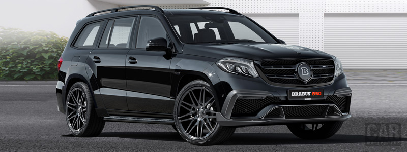 Car tuning desktop wallpapers Brabus 850 XL Widestar Mercedes-AMG GLS 63 - 2016 - Car wallpapers