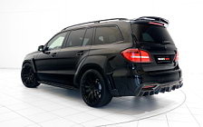 Car tuning desktop wallpapers Brabus 850 XL Widestar Mercedes-AMG GLS 63 - 2016