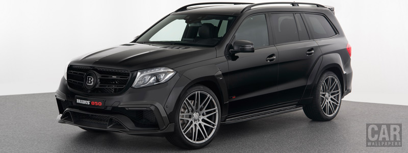 Car tuning desktop wallpapers Brabus 850 XL Widestar Mercedes-AMG GLS 63 - 2017 - Car wallpapers