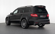 Car tuning desktop wallpapers Brabus 850 XL Widestar Mercedes-AMG GLS 63 - 2017