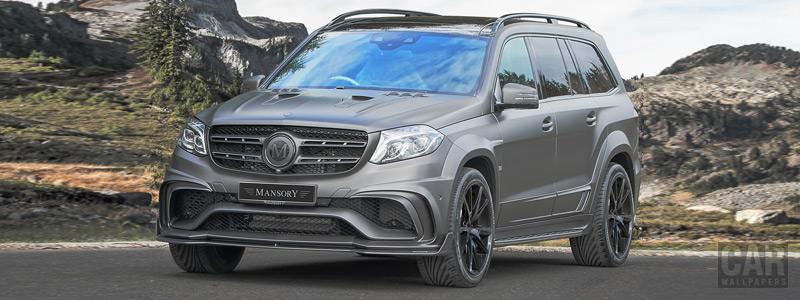 Car tuning desktop wallpapers Mansory Mercedes-AMG GLS 63 4MATIC UK-spec - 2017 - Car wallpapers