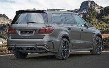 Car tuning desktop wallpapers Mansory Mercedes-AMG GLS 63 4MATIC UK-spec - 2017