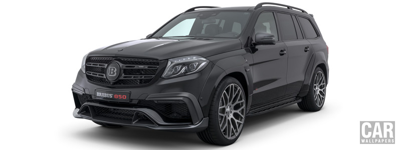 Car tuning desktop wallpapers Brabus 850 XL Widestar Mercedes-AMG GLS 63 - 2018 - Car wallpapers