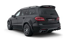 Car tuning desktop wallpapers Brabus 850 XL Widestar Mercedes-AMG GLS 63 - 2018
