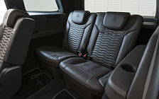 Car tuning desktop wallpapers Brabus 850 XL Widestar Mercedes-AMG GLS 63 - 2018
