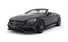Car tuning desktop wallpapers Brabus Rocket 900 Cabrio Mercedes-AMG S 65 Cabriolet - 2017