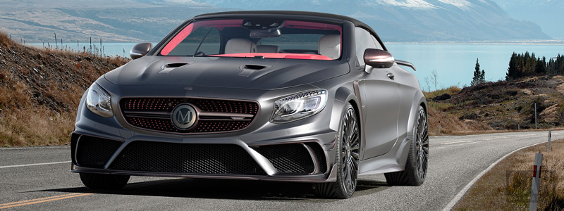 ���� ������ ���� Mansory Mercedes-AMG S 63 Cabriolet Black Edition - 2017 - Car wallpapers