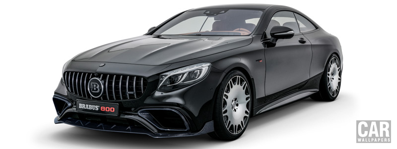 Car tuning desktop wallpapers Brabus 800 Coupe Mercedes-AMG S 63 4MATIC+ Coupe - 2018 - Car wallpapers