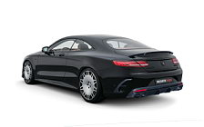 Car tuning desktop wallpapers Brabus 800 Coupe Mercedes-AMG S 63 4MATIC+ Coupe - 2018
