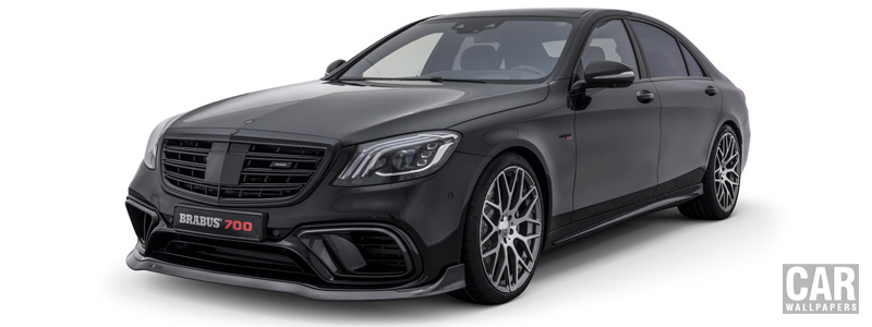 Car tuning desktop wallpapers Brabus 700 Mercedes-AMG S 63 4MATIC - 2017 - Car wallpapers