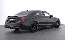 Car tuning desktop wallpapers Brabus 700 Mercedes-AMG S 63 4MATIC - 2017