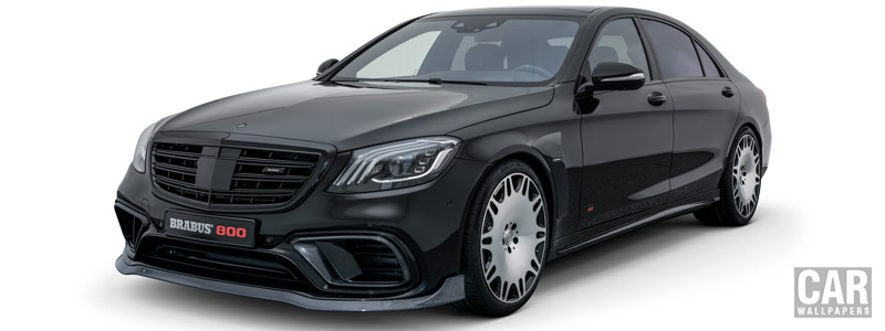 Car tuning desktop wallpapers Brabus 800 Mercedes-AMG S 63 4MATIC+ - 2018 - Car wallpapers