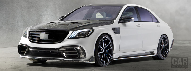 Car tuning desktop wallpapers Mansory Mercedes-AMG S 63 Signature Edition - 2018 - Car wallpapers