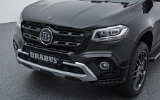 Car tuning desktop wallpapers Brabus Mercedes-Benz X-class D4 - 2018