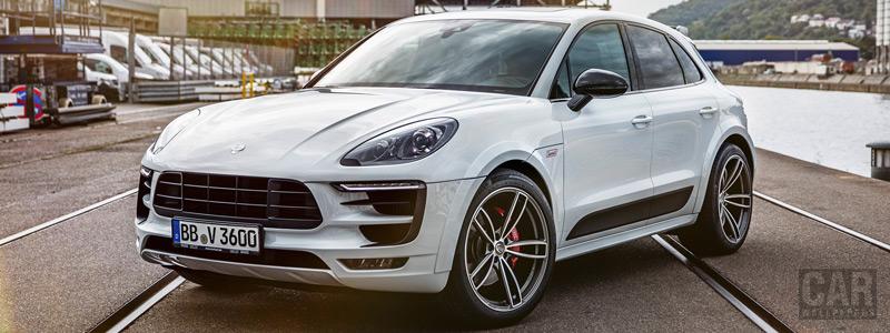 Car tuning desktop wallpapers TechArt Porsche Macan - 2018 - Car wallpapers