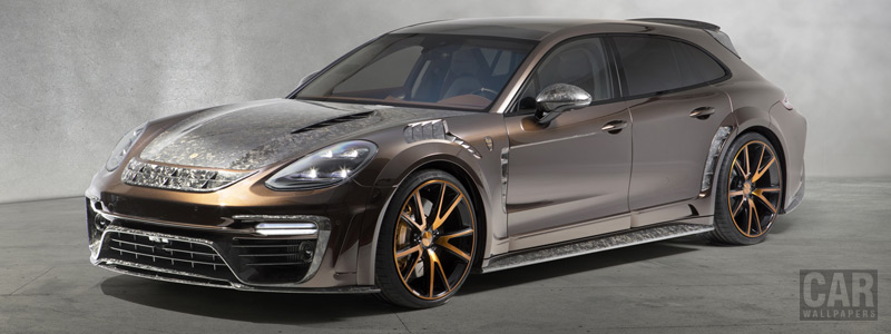 Car tuning desktop wallpapers Mansory Porsche Panamera Sport Turismo - 2018 - Car wallpapers