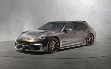 Car tuning desktop wallpapers Mansory Porsche Panamera Sport Turismo - 2018