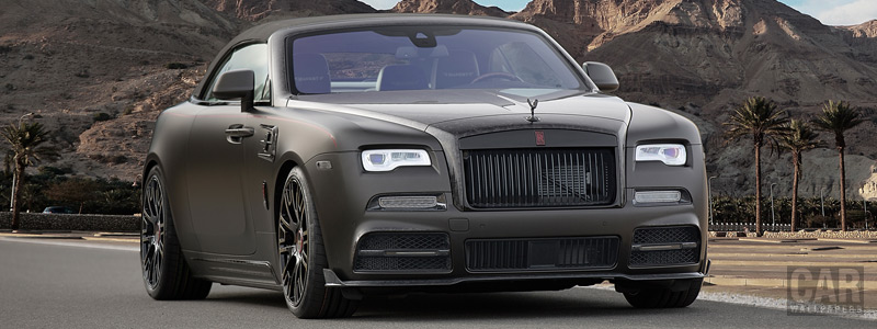 ���� ������ ���� Mansory Rolls-Royce Dawn Black Collage - 2017 - Car wallpapers