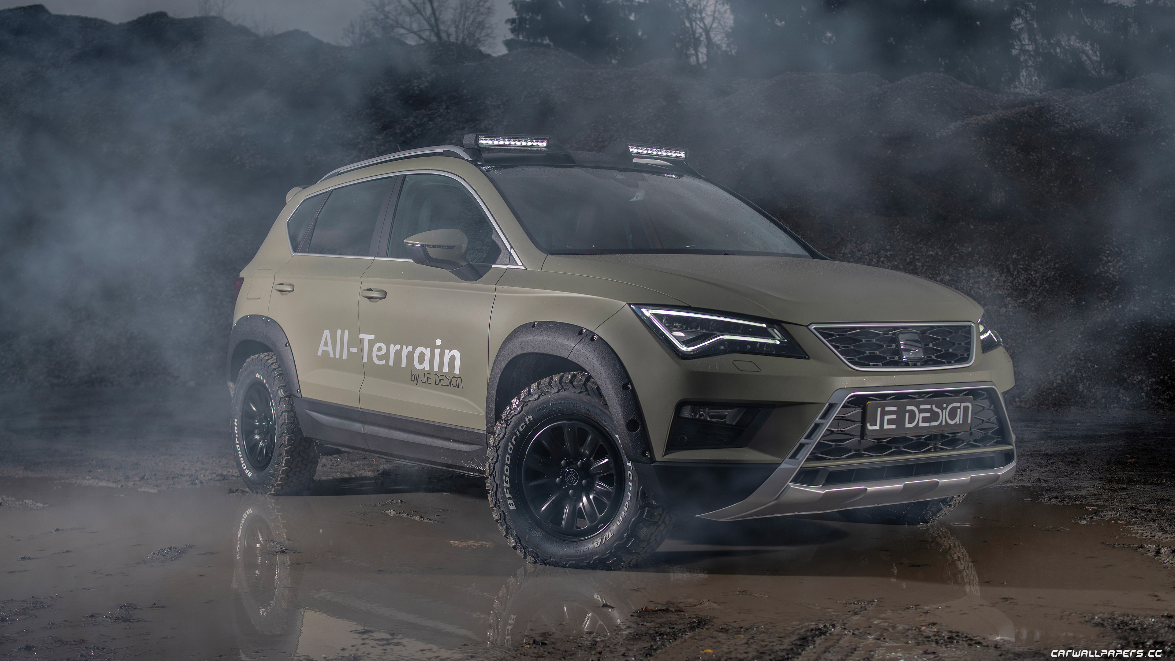 Car Tuning Desktop Wallpapers Je Design Seat Ateca All