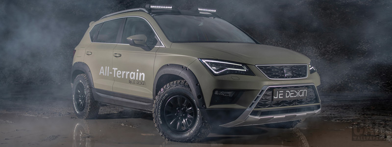 Car tuning desktop wallpapers JE Design Seat Ateca All Terrain - 2018 - Car wallpapers