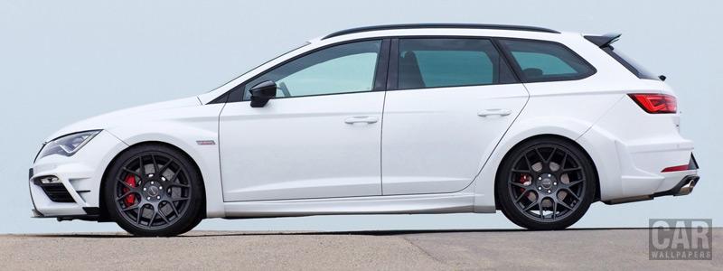 Car tuning desktop wallpapers JE Design Seat Leon Cupra 300 ST Widebody - 2018 - Car wallpapers