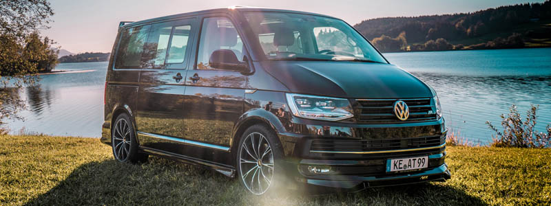 Car tuning desktop wallpapers ABT Volkswagen Caravelle T6 - 2018 - Car wallpapers